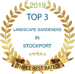 Best Rated Top 3 Landscape Gardeners in Stockport Logo