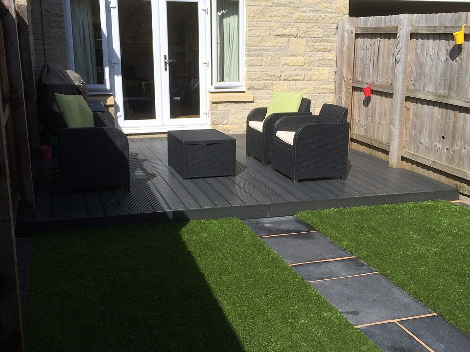 New build services by Blue Sky Gardens, Cheshire